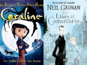 Los mundos de Coraline y El libro del cementerio