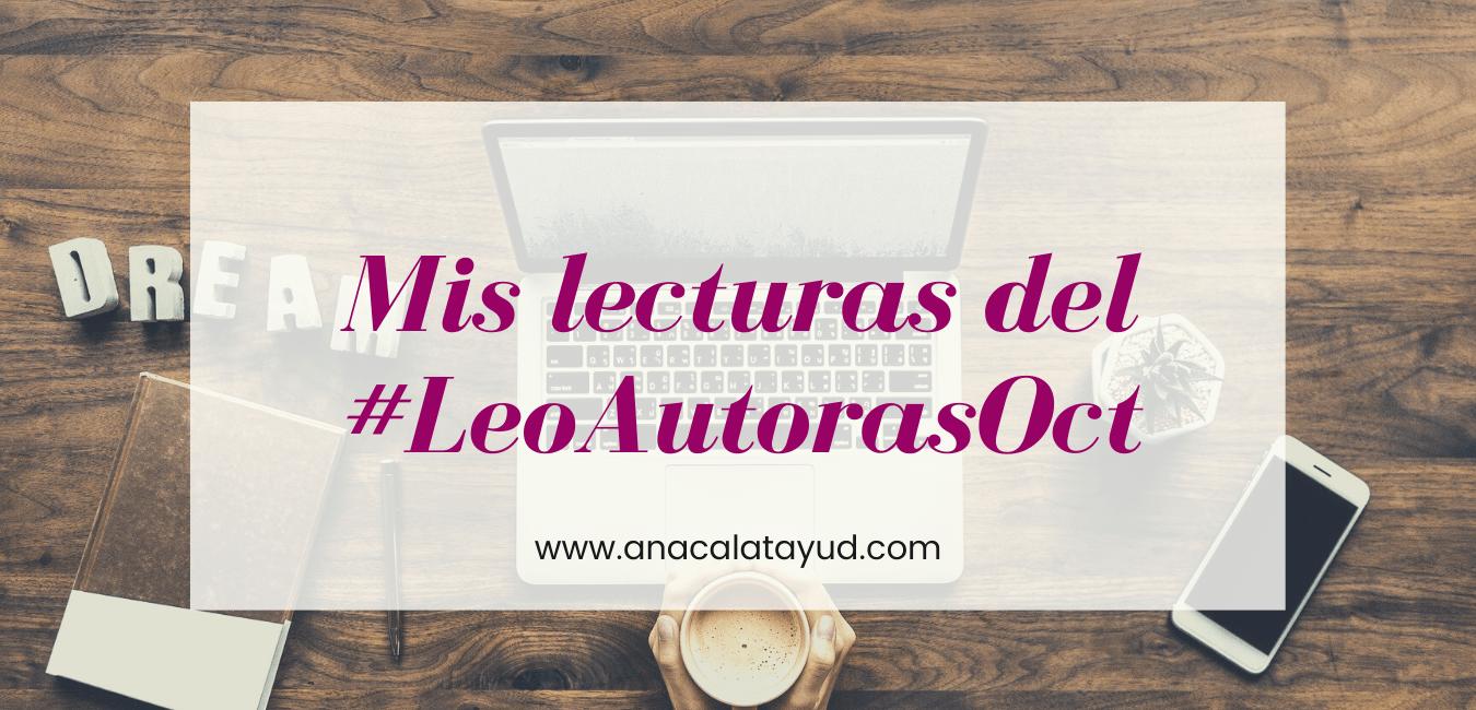 Mis lecturas del #LeoAutorasOct