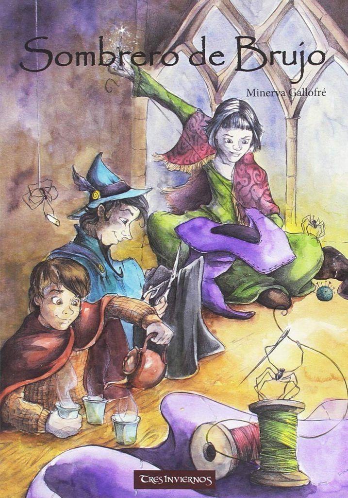 Libros para empezar a leer fantasía - Sombrero de brujo (Minerva Gallofré)