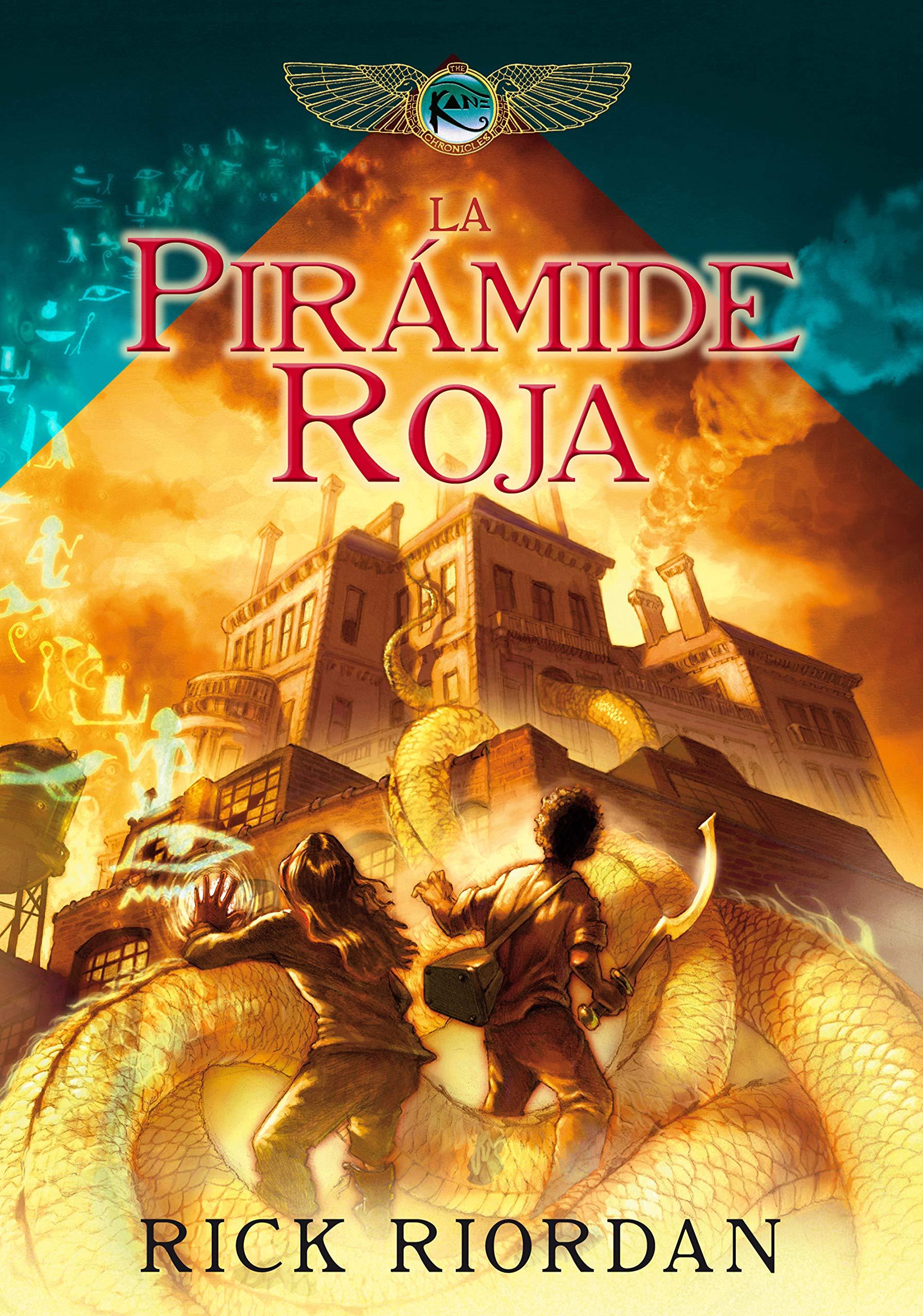 Libros juveniles de fantasía La pirámide roja, de Rick Riordan